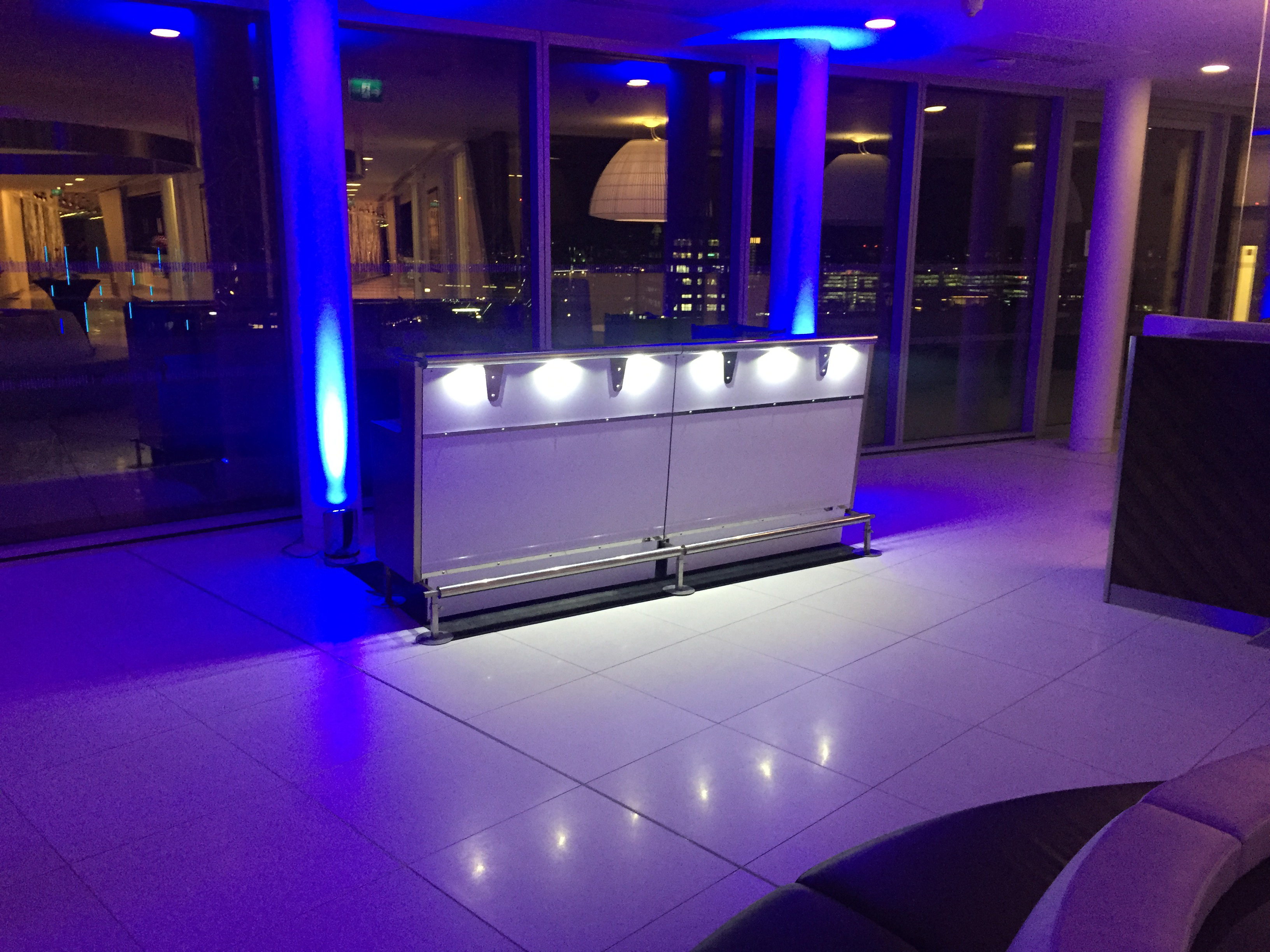 Premium bars for events